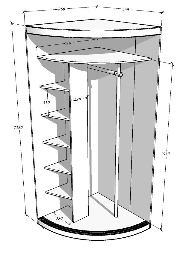 Шкаф купе версаль схема сборки фото 443